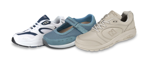 A wide variety of diabetic shoes