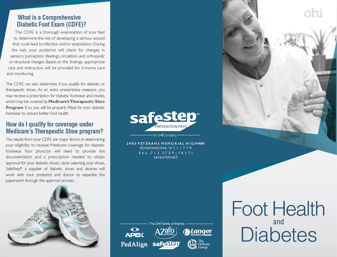 2016 Patient Brochure Helps Ensure That Patients With Diabetes Get