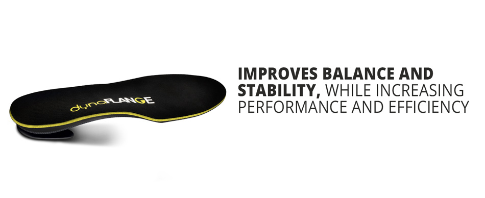 Improves balance and stability, while increasing perfomance and efficiency
